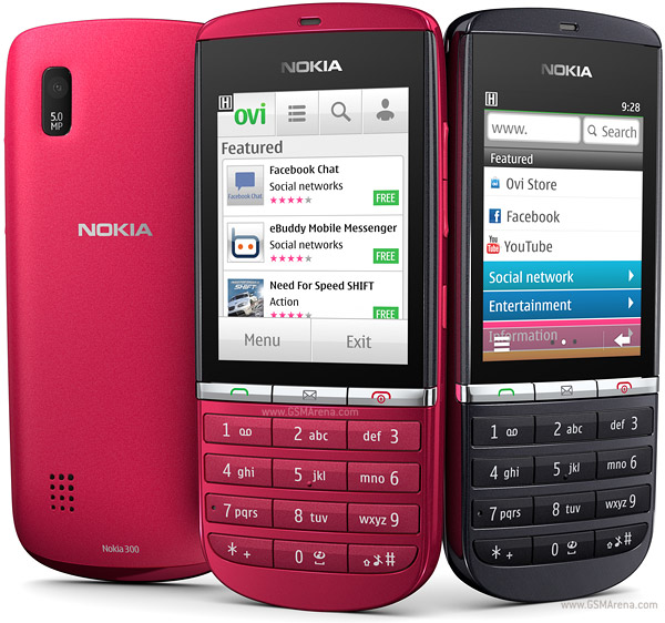 Nokia Asha 300 pictures  official photos