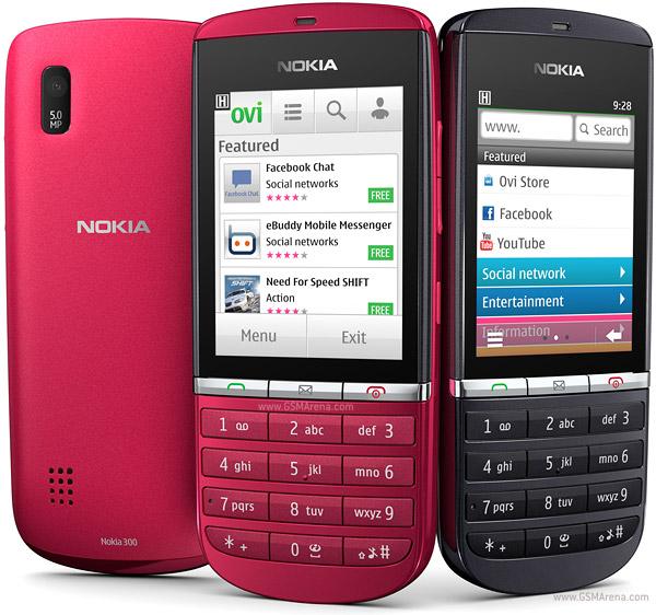 Nokia Asha 300 pictures  official photos
