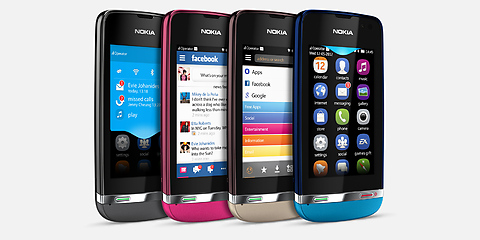 Nokia Asha 311   Smartphone with powerful processor   Nokia