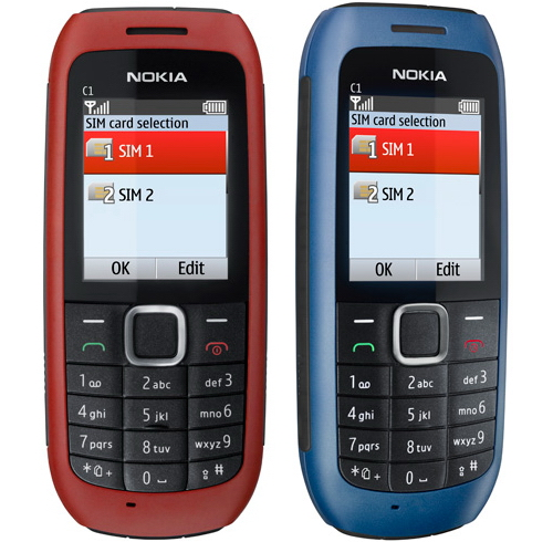 Nokia C2 and Nokia C1 dual SIM phones announced   Unwired View