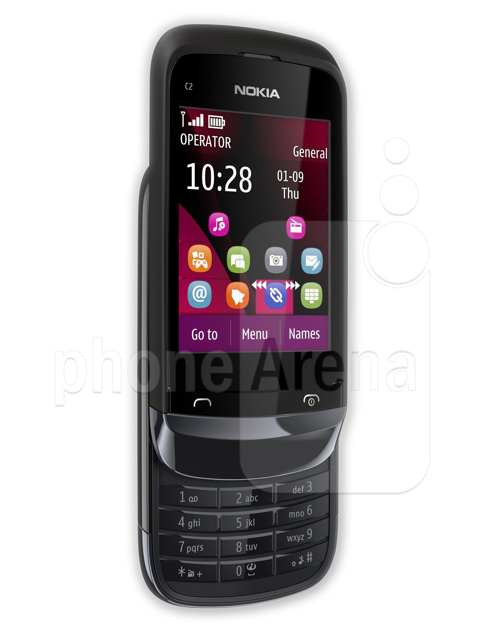 Nokia C2 02 specs