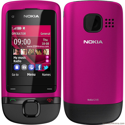 Nokia C2 05 pictures  official photos