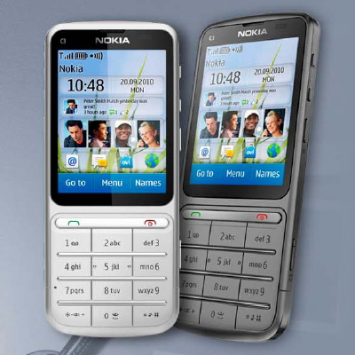 Nokia C3 01 Touch and Type announced  the second S40 touchscreen