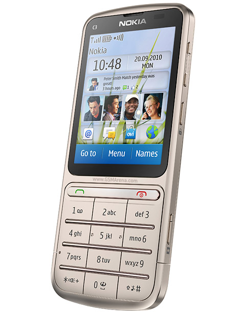 Nokia C3 01 Touch and Type   Full phone specifications