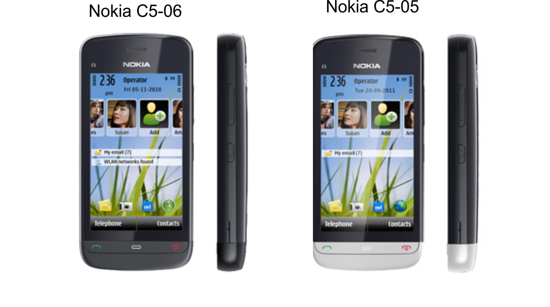 Nokia C5 06 and C5 05  New Product from Nokia Smartphone