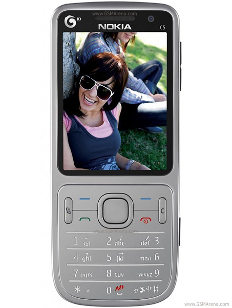 Nokia C5 TD SCDMA   Full phone specifications
