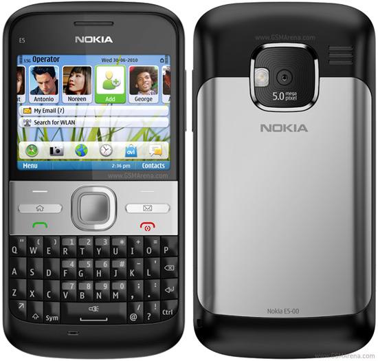 Nokia E5 pictures  official photos