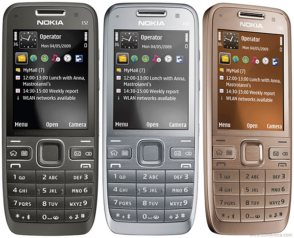 Nokia E52 pictures  official photos