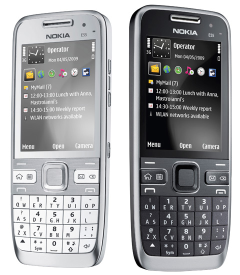Nokia E55     Price Features of the SmartPhone with compact QWERTY