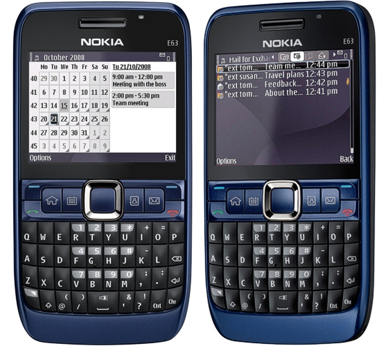 Nokia E63 Device Specifications   Handset Detection