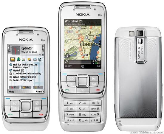 Nokia E66 pictures  official photos