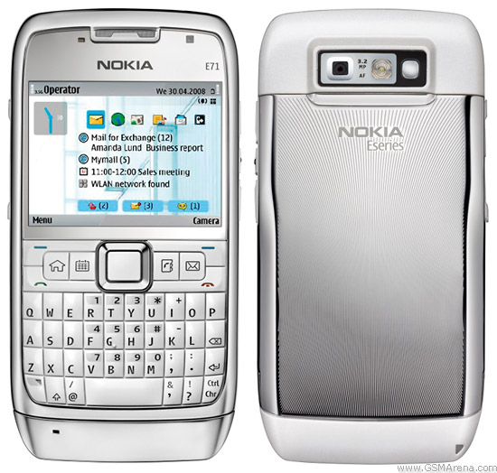 Nokia E71 pictures  official photos