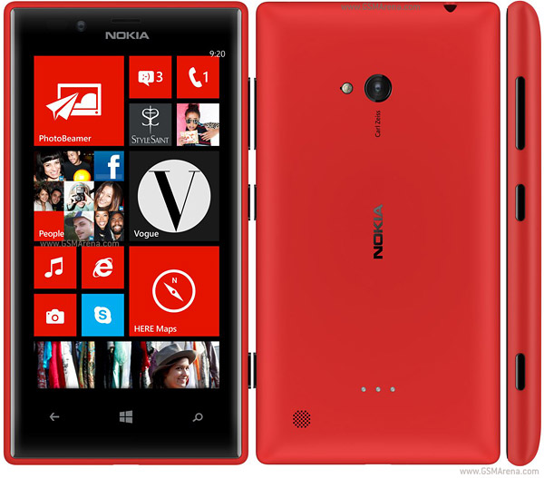 Nokia Lumia 720 pictures  official photos