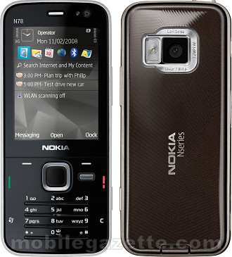 Nokia N78   Mobile Gazette   Mobile Phone News