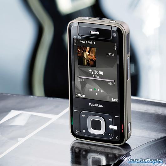 digital products  Nokia N81 8gb Mobile Phone