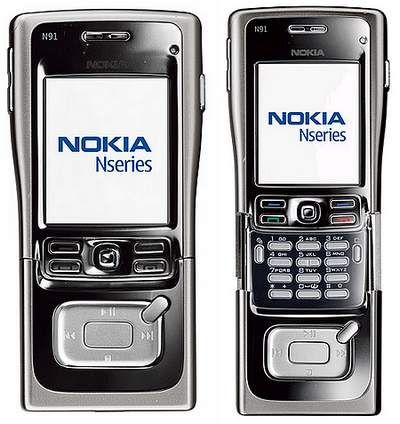 Nokia N91 8GB cell phone for Gaming by Nokia