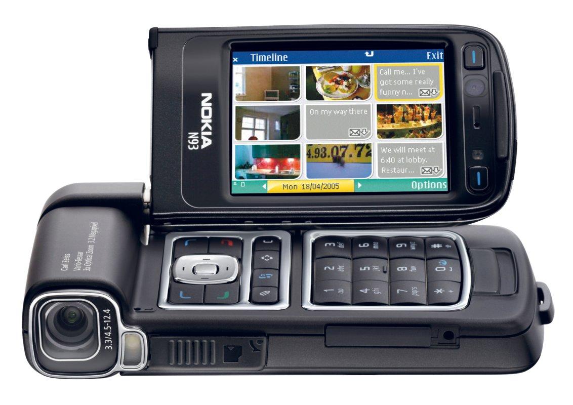 Nokia N93   Biznesowe telefony kom  rkowe Nokia