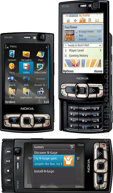 Nokia N95 8GB   Mobile Gazette   Mobile Phone News