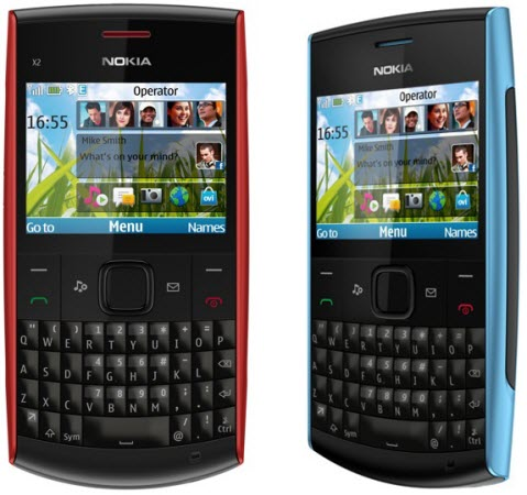 Nokia X2 01 Price in India Rs  4459