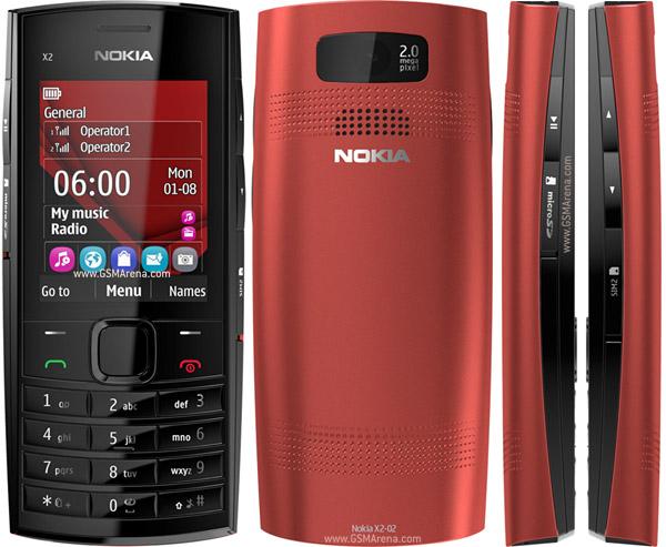 Nokia X2 02 pictures  official photos