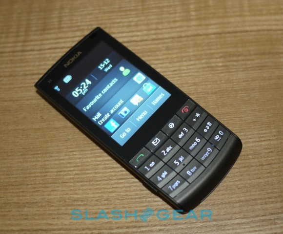 Nokia X3 02 Touch and Type Review   SlashGear