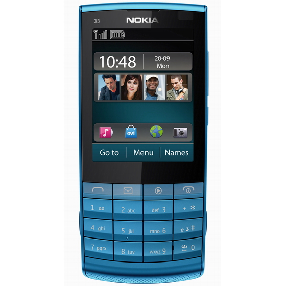 Nokia X3 02 Touch and Type announced  the first S40 touchscreen