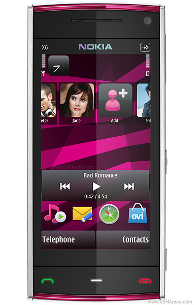 Nokia X6 16GB   Full phone specifications