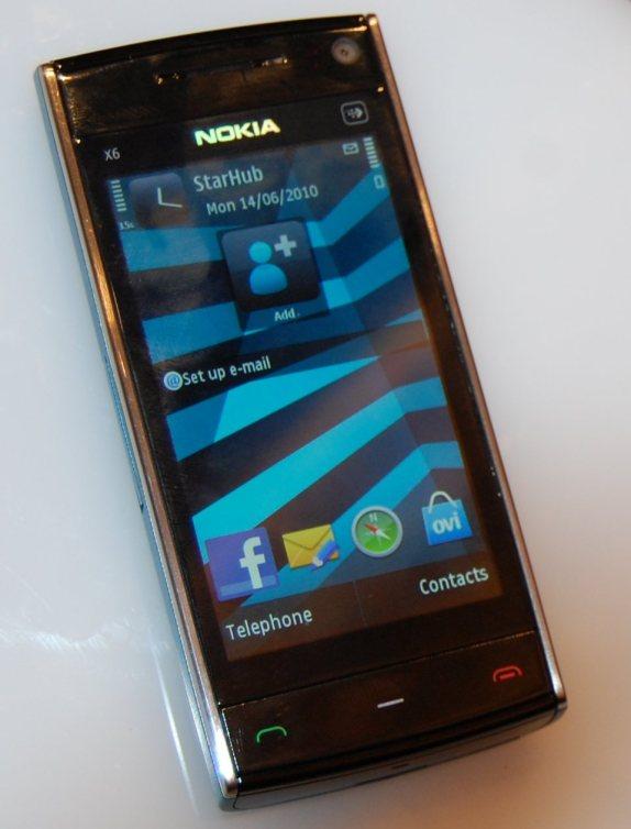 Nokia X6 8GB Pics