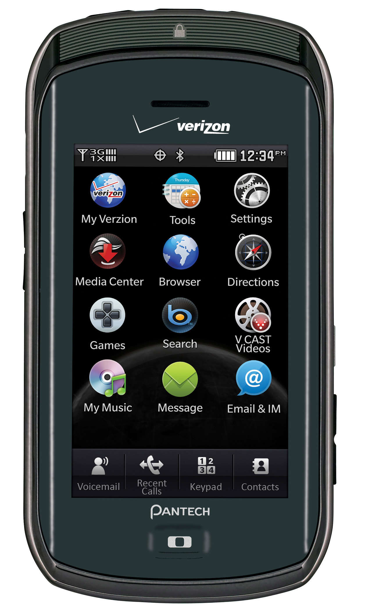 Pantech Crux arrives at Verizon Wireless   Dialed In   CNET Blogs