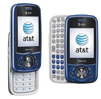Pantech Matrix Bluetooth Music BLUE 3G Phone Unlocked   Fair