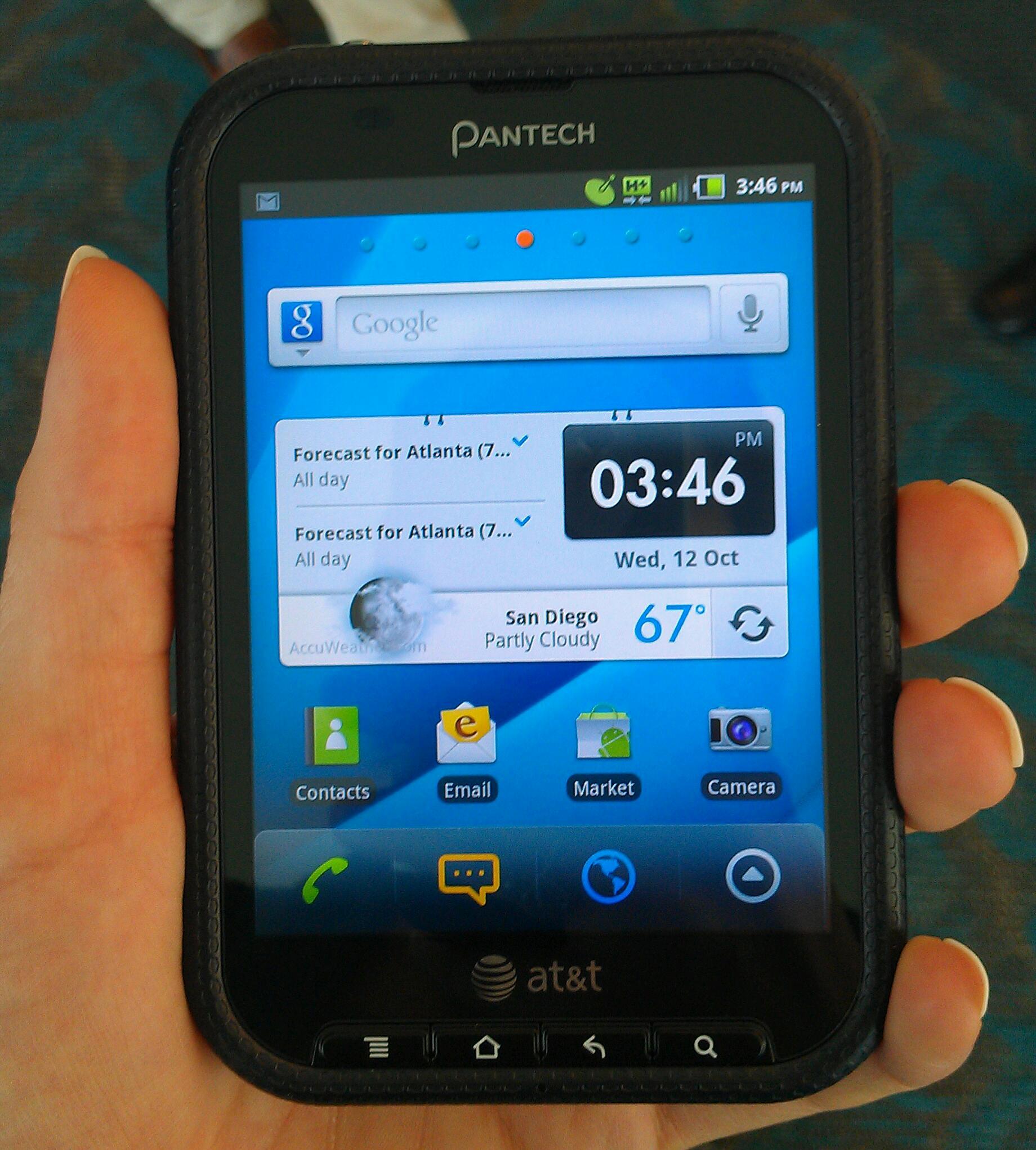 Pantech Pocket Review  Unique  Wallet Friendly Phone   TechHive