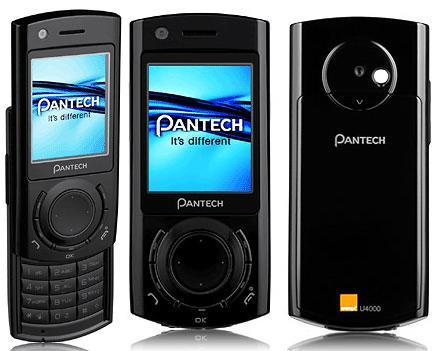 The Pantech U4000  is a modern  stylish 2G Tri band 3G Unlocked