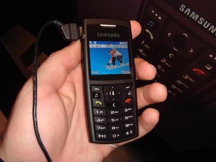 Samsungs A727 for Cingular in the flesh
