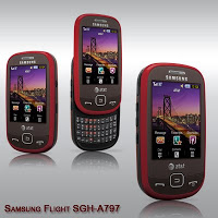Samsung Flight SGH a797     Lets You Switch between Touch and Type