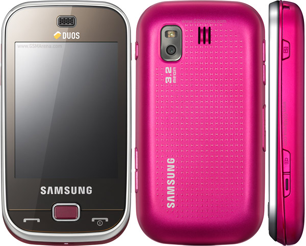 Samsung B5722 pictures  official photos