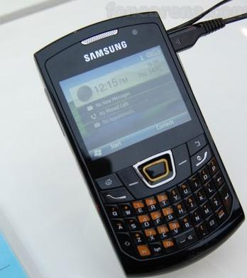Samsung OMNIA PRO 5  B6520  QWERTY Smartphone Announced With