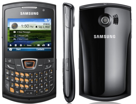 Samsung B6520 Omnia PRO 5 Phone Specifications  Review  Information