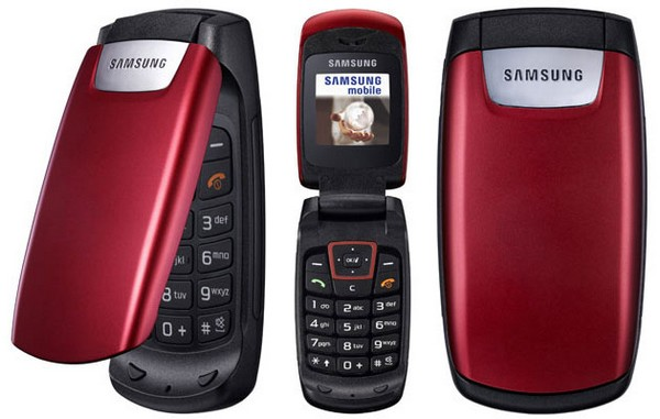 Samsung C260 phone photo gallery  official photos