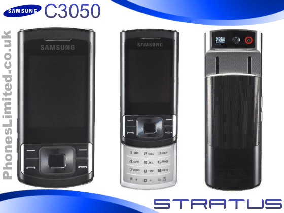 Samsung C3050  Stratus  on Pay As You Go Deals UK   Phones Limited