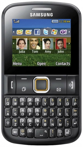 Samsung Chat 220     Features Specifications   Gizbot