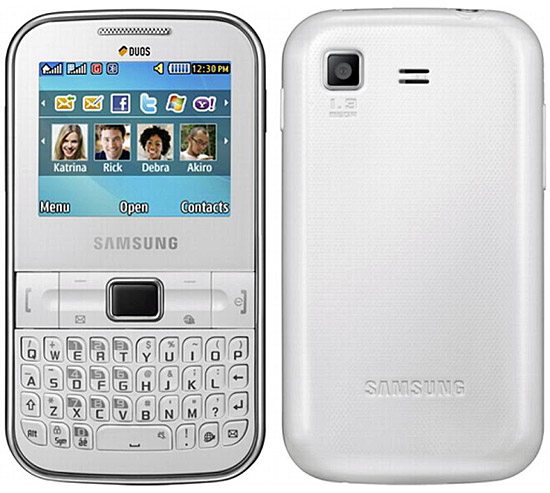 Samsung Ch t 322 Wi Fi pictures  official photos