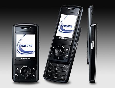 Samsung D520 phone photo gallery  official photos