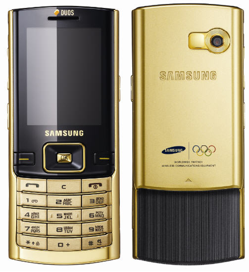Samsung D780 gets plated in gold  becomes official Russian Olympic