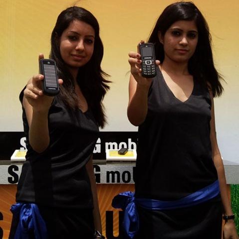 New Samsung E1107 Crest Solar Cell Phone