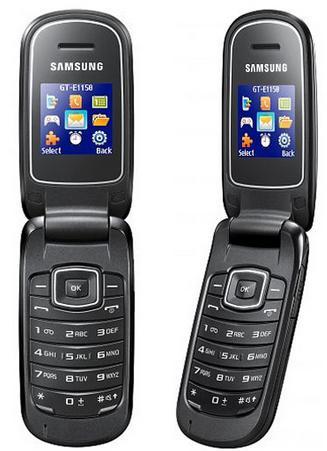 Samsung E1150 phone photo gallery  official photos