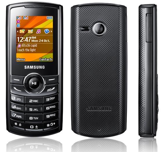 Samsung announces E1182  E2232 and C3322     Dual SIM budget phones