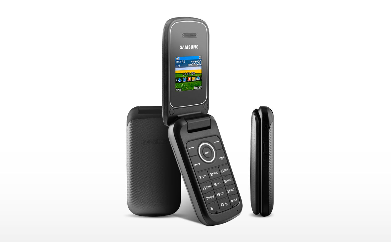 Samsung E1190 Mobile Phone on Pay as you go   pound