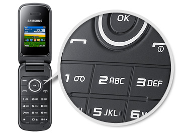Buy Samsung E1195 Mobile Phone on Pay As You Go   Vodafone   overview