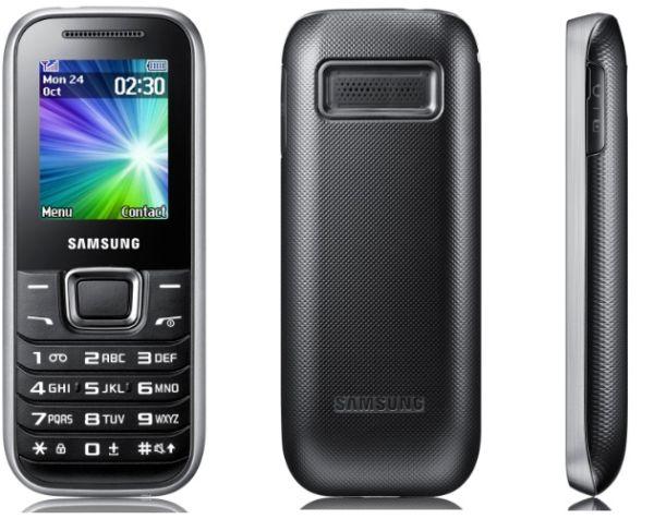 Samsung E1230 phone photo gallery  official photos