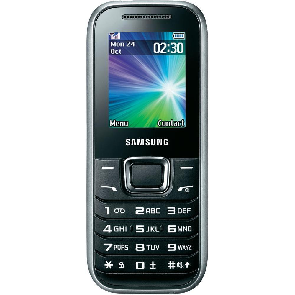 Samsung E1230 SIM free mobile phone from Conrad Electronic UK